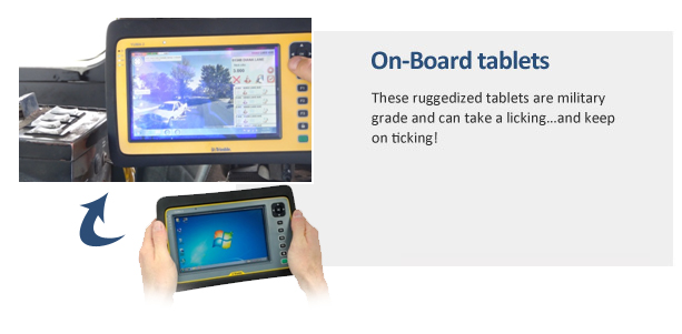On-Board tablets